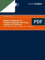 Mobile pedagogy for English language teaching