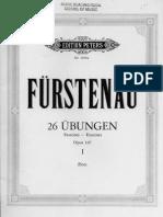Furstenau - Op.107 Exercises and Studies -Flute