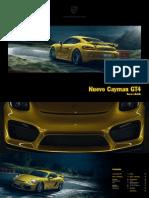 Cayman GT4 - Catálogo