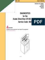 Diagnostics for Kodak DirectView CR 950 System 26AUG04
