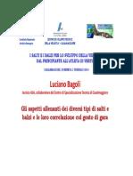 Bagoli - Gli Aspetti Allenanti Di Balzi e Salti - Relazione 1 Feb 2015