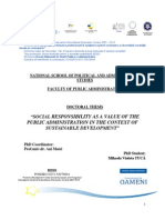 Social Responsibilities and Social Impact