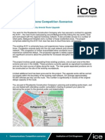 ICE Communication Competition Scenarios