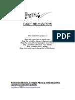 Carte de Cantece Folk Si de Munte