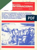 Revista Internacional-Nuesctra Época - Edición Chilena - Mayo de 1983