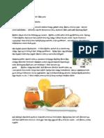 Ginger Medicine Docx