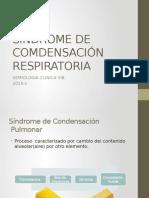 Sindrome de Comdensación Respiratoria
