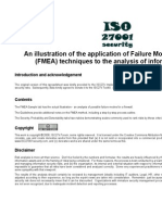 ISO27k FMEA Spreadsheet