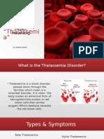 thalassemia presentation