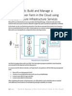US IT Camp - Azure Hybrid Cloud HOL - FY14H2 - 201405.pdf