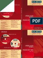 KM Beta - DVD Booklet