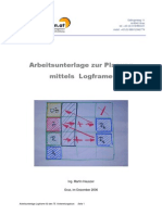 Arbeitsunterlage Zur Planung Mittels Logframe (Facilitation.at)