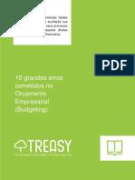 10 Grandes Erros - Orçamento Empresarial