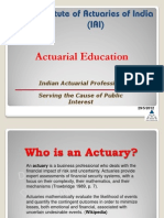 Introduction to the Actuarial Profession