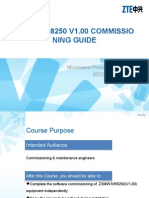 Microwave-bc-En-zxmw Nr8250 v1.00 Commissioning Guide