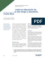 Gestión del Riesgo en Costa Rica