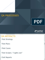 QA Processes - Foundation