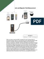 EMF Magnetic Measurement
