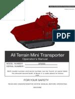 SPF650 Tracked Dumper Manual