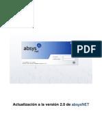 Mejoras Absysnet 2-0