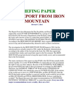 Iron Mountain Briefing Paper