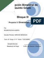 5to Grado - Bloque 3 - Proyecto 3