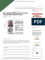 Un Ex Espía Del CESID Acusa Al Ex Rey Juan Carlos de Robar Millones de Euros