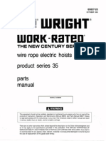 ACCO Wright Work Rated WR Manual With Product Series 35 Parts