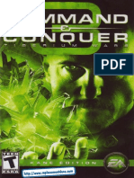 Command & Conquer 3 Tiberium Wars Manual