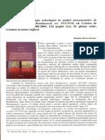 review of Dana Mihai, Contribuția arheologiei la studiul monumentelor de arhitectură din Țara Românească, sec. XVI-XVII