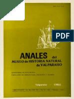 Publicaciones-Historia Natural de Valparaíso-Archivos-Anales Del Museo de Historia Natural de Valparaíso - Vol 14