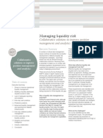 SWIFT White Paper Managing Liquidity  Risk Collaborative Solutions June 2011