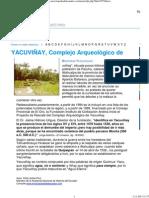 Enciclopedia del Ecuador - Efrén Avilés Pino - YACUVINAY, Complejo Arqueológico de.pdf