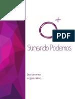 Sumando Podemos .Documento Organizativo