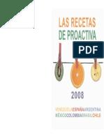 Libro Cocina 2008