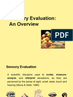 Lecture 1 Sensory Evaluation(Overview) revised November  14 2008.ppt