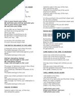 RPYC Hymn Book