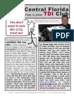 TDI Feb 2015 Workshop