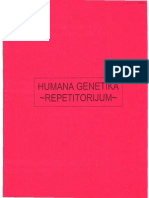 Humana Genetika Repetitorijum
