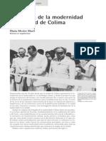 La llegada de la modernidad a la ciudad de Colima