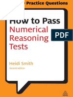 How to Pass Numerical Reasoning Tests, Second Edition - Smith, Heidi