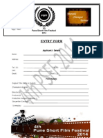 PSFF 2014 Entry Form