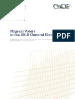 Migrant Voters 2015 Paper