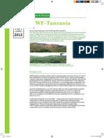 WWF-Tanzania Fact Sheet