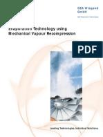 Evaporation Technolgy Mechanical Vapour Recompression_GEA_Wiegand_en