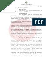 El juez Ramos declaró su incompetencia en la causa por la denuncia de Nisman