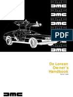 DeLorean Owners Manual