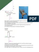 Ornithopter Gangartwechsel