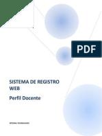 Manual de Sistema de Registro de Notas