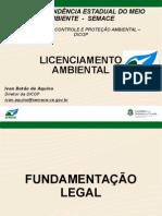 Licenciamento Ambiental _ivan Botao_semace